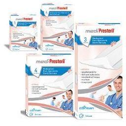 Mediprestil Medicazioni Sterili 7,5X10 cm 4 pezzi