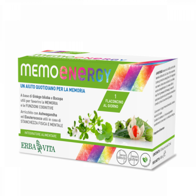 MEMO ENERGY FLACONCINI         ERBA V FL    10