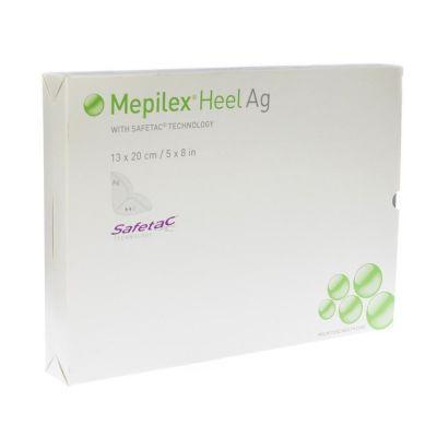 Mepilex Heel Ag 13x20cm 5 stuks