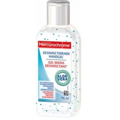 Mercurochrome Gel Mains Aloe Vera 75ml Gel 75ml