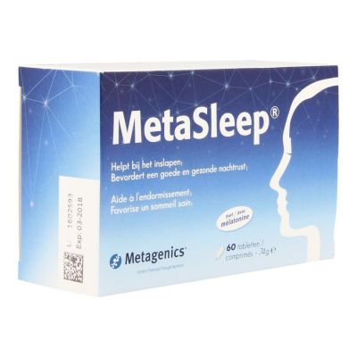 Metagenics Metasleep Tabletas 60 unidades