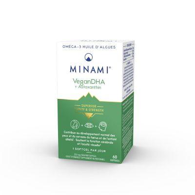 Minami Vegan DHA Cápsulas 60 unidades