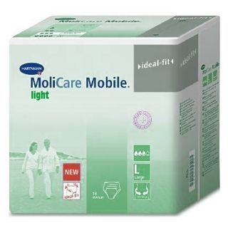 Molicare mobile light extra-large 14 pièces