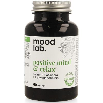 Mood Lab Positive mind & relax Capsules 60 pièces