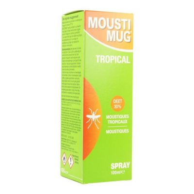 Moustimug spray tropical Spray 100ml