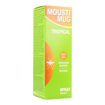 Moustimug Tropical Spray Spray 100ml