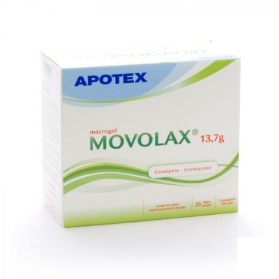 Movolax 13,7g Apotex Sachets 20 pièces