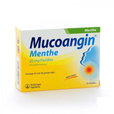 Mucoangin menthe pastilles à sucer  Pastilles 30 pièces