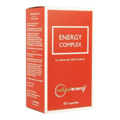 Natural Energy Energy complex  Capsules 60 pièces