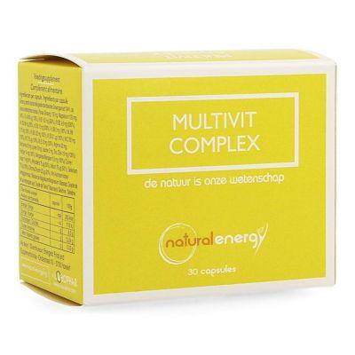 Natural Energy Multivit Komplex Kapseln 30 Stück