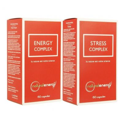 Natural Energy pack stress Capsules 60 + 60 pièces