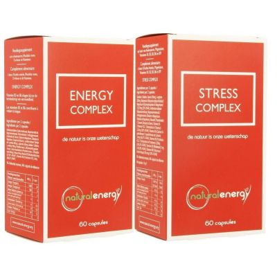 Natural Energy Stress pakket Capsules 60 + 60 stuks