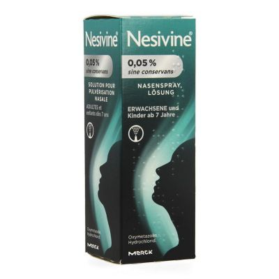 Nesivine 0,05% sine conservans Spray nasal 10ml