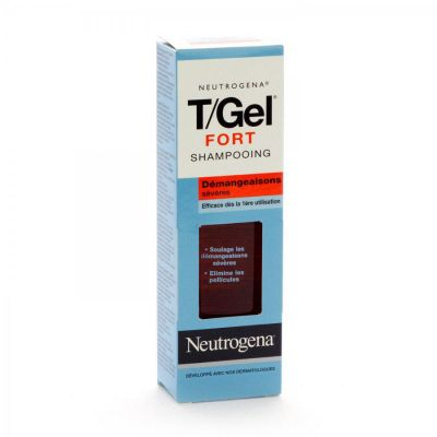 Neutrogena T/Gel Fort shampooing Shampooing 125ml