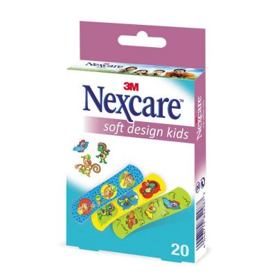Nexcare Soft Kid design 20 stuks