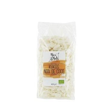 Nice & Nuts Chips de coco Semillas molidas 400g