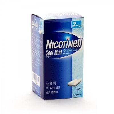 Nicotinell MintFrisch 2 mg  Kaugummi 96 Stück