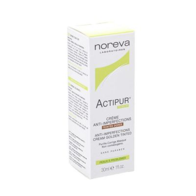Noreva Actipur Anti-Imperfecties Goud Crème 30ml