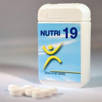 NUTRI 19 INTEGRATORE 60CPR