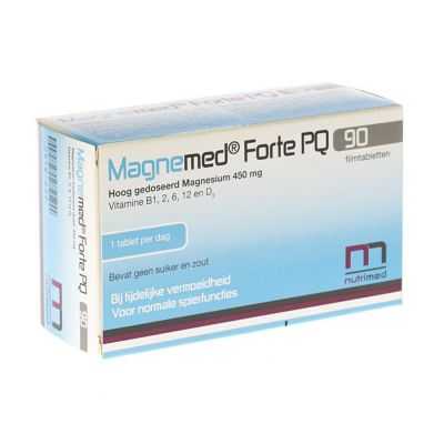 Nutrimed Magnemed Forte PQ Tabletten 90 stuks