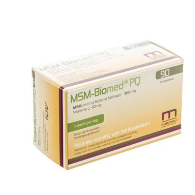 Nutrimed MSM-Biomed PQ Tabletten 90 stuks