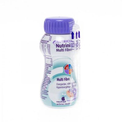 Nutrinidrink multi fibre neutral Boisson 200ml