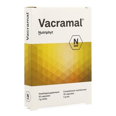 Nutriphyt Vacramal Capsules 10 pièces