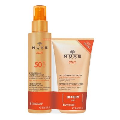 Nuxe Sun Spray fondant SPF50 Promo Coffret 150+100ml
