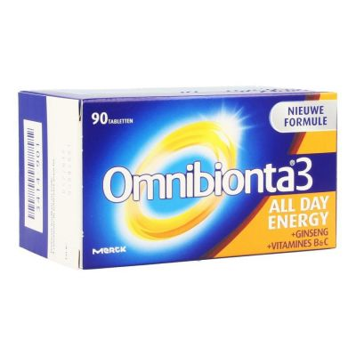 Omnibionta 3 All Day Energy Tabletten 90 stuks