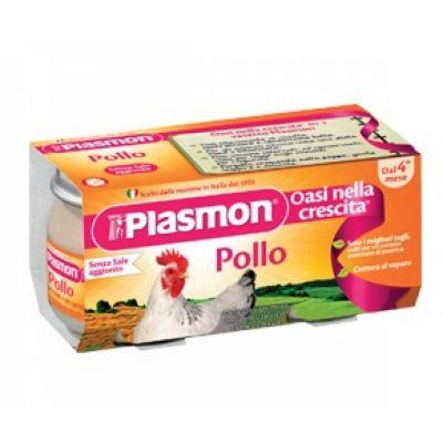 OMOG.PLASMON POLLO     120X2