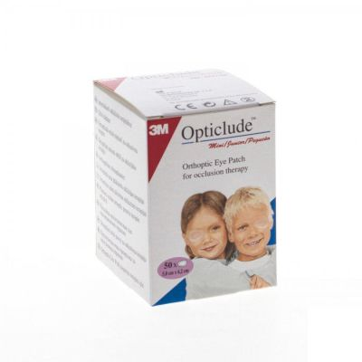 Opticlude oogpleisters junior 50mm x 62mm 50 stuks