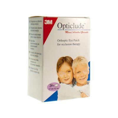 Opticlude senior 82x57mm 20 unidades