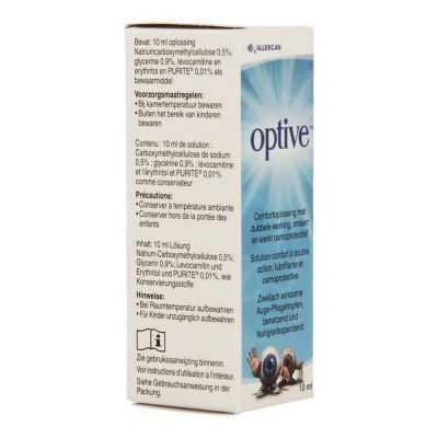 Optive collyre Gouttes oculaires 10ml