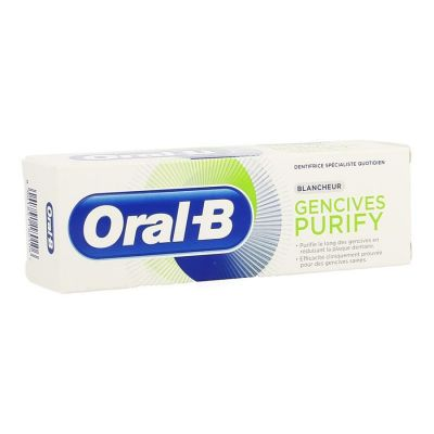 Oral-B Purify Blancheur Dentifrice 75ml