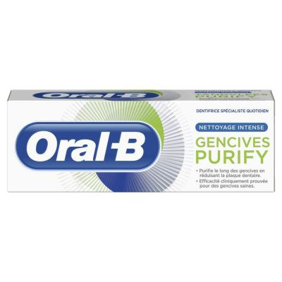 Oral-B Purify Gencives nettoyage intense Dentifrice 50ml