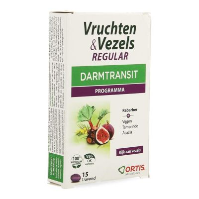 Ortis Fruits & Fibres Regular Tabletten 15 Stück