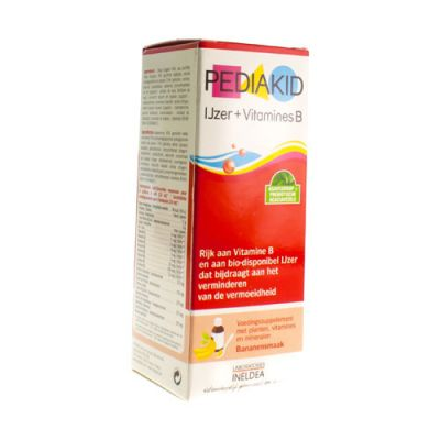 Pediakid Ijzer + vitamines B Drinkbare oplossing 125ml