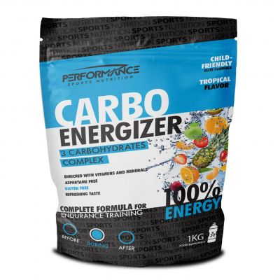 Performance Carbo Energizer tropical Poeder 1000g