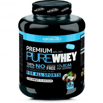 Performance Premium Pure Whey kokosnoot Poeder 2000g