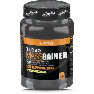 Performance Turbo Mass Gainer NB vanille Poudre 1000g