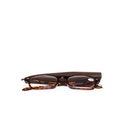 Pharmaglas Bruine leesbril +1,00 1 stuks
