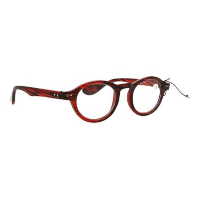 Pharmaglas Milano Rood zwarte leesbril +1.50 1 stuks