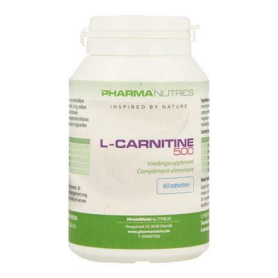Pharmanutrics L-Carnitine 500 Tabletten 60 stuks
