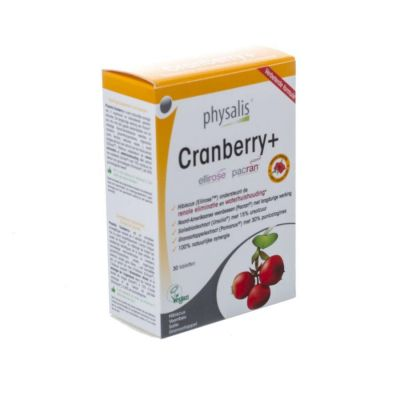 Physalis Cranberry+ Tabletten 30 stuks