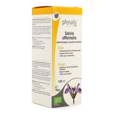 Physalis Salvia officinalis Druppels 100ml