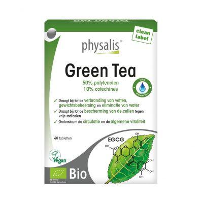Physalis Thé vert Comprimés 60 pièces