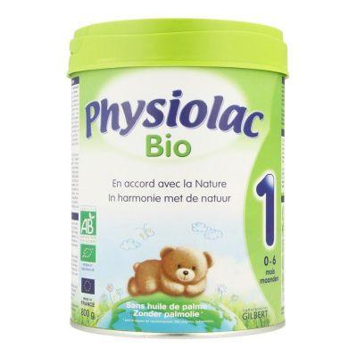 Physiolac Bio lait en poudre 1 Poudre 800g