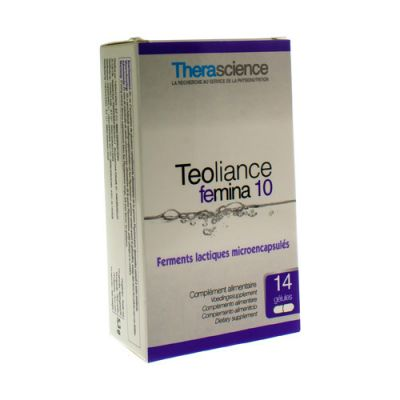 Physiomance Teoliance femina 10 Capsules 14 pièces