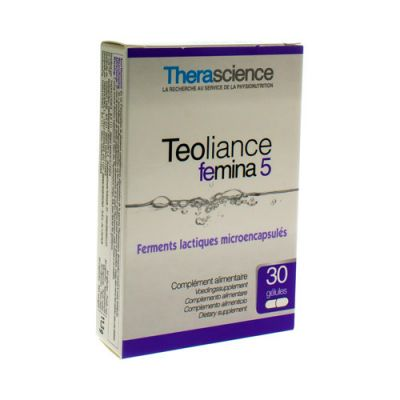 Physiomance Teoliance femina 5 Capsules 30 pièces