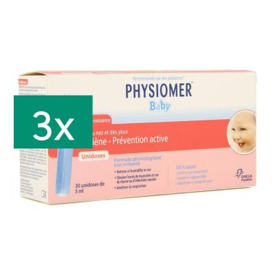 Physiomer Baby unidoses tripack 3x30 pièces